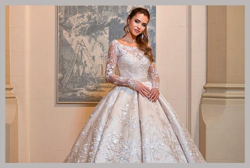 Модные свадебные головные уборы для невесты