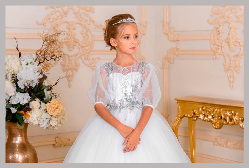 f524d8211dcbae6 Свадебные и детские платья оптом - Престиж
