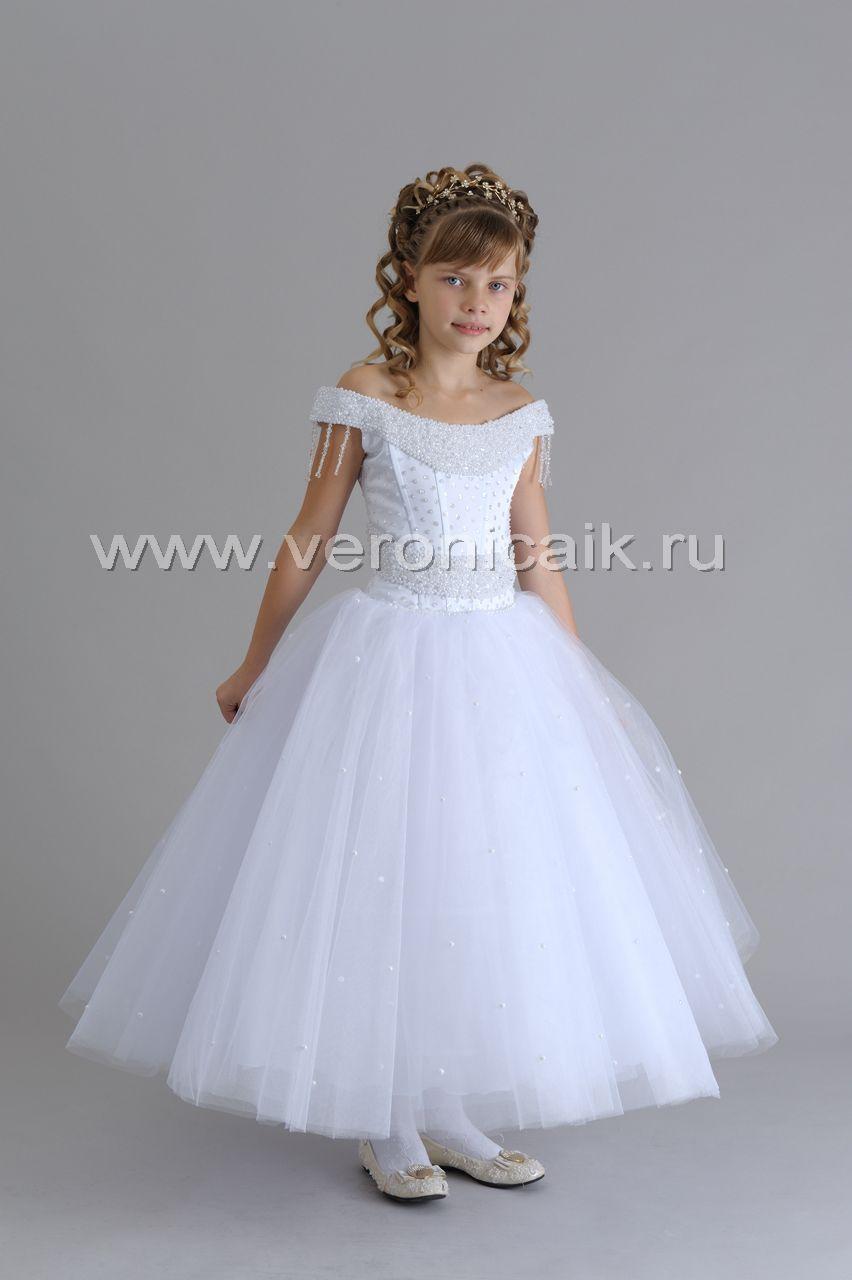 Как сшить бальное платье для девочек 45