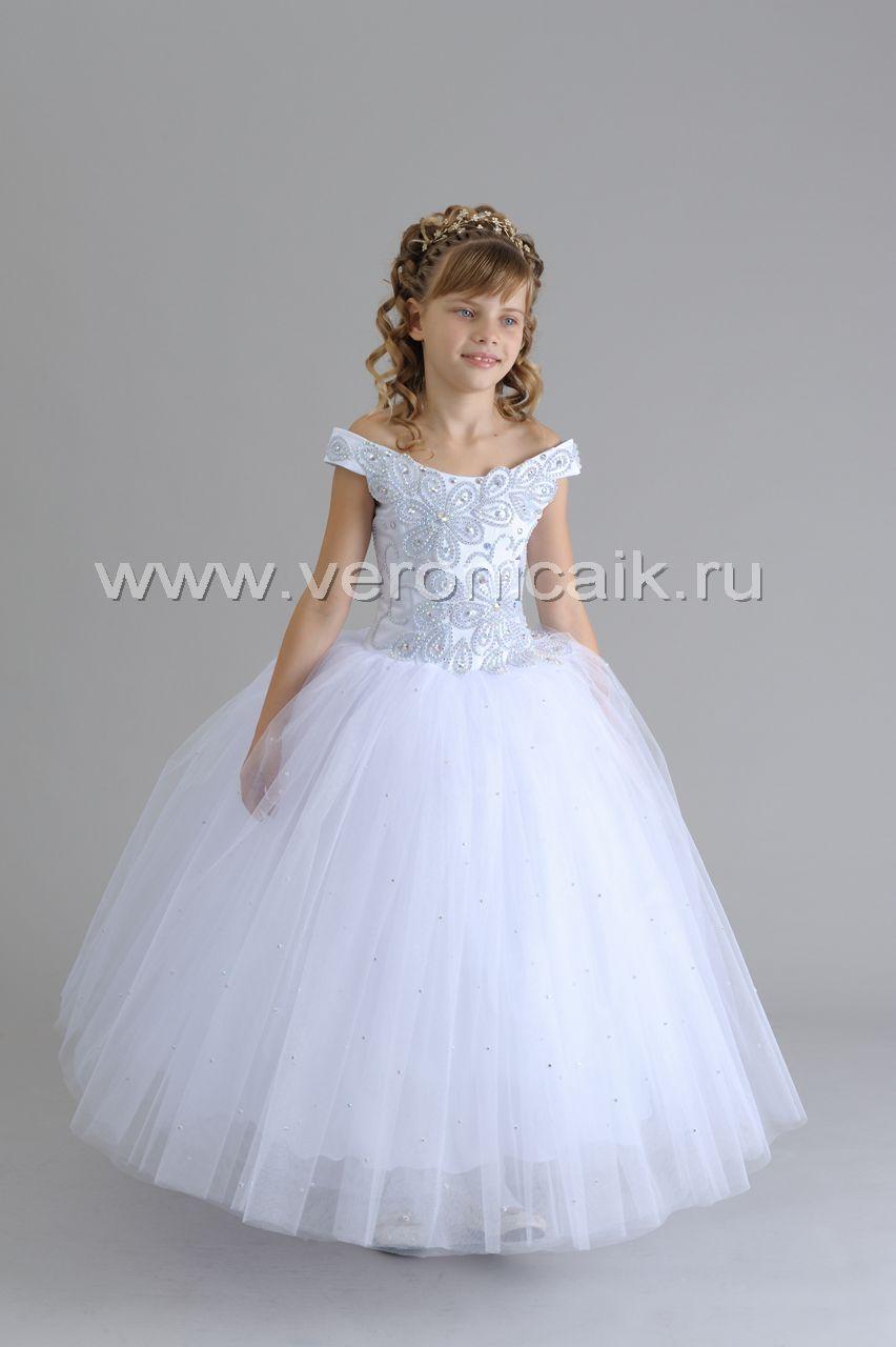 Детское пышное платье своими руками фото